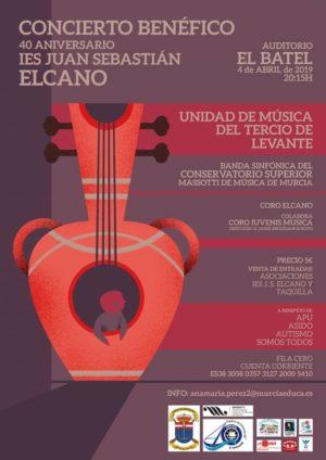 Concierto Benéfico 40 AÑOS IES J.S. El Cano